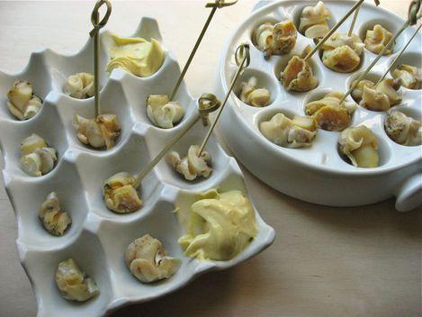 Bulots mayonnaise