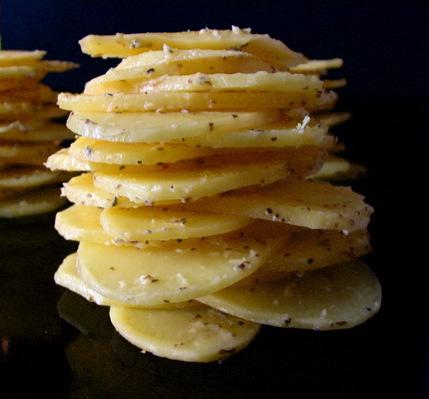 millefeuille de pommes de terre