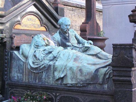 Tombe Famille Pigeon cimetière du Montparnasse