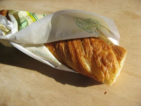 baguette feuillete en pte  croissant