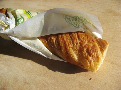 baguette feuilletée en pâte à croissant