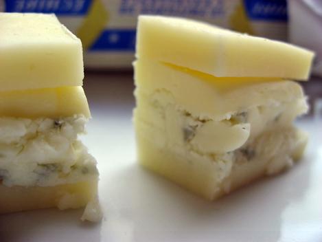 beurre et fromages de beaufort et roquefort