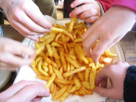 frites croustillantes