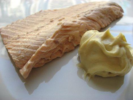 truite de mer mayonnaise
